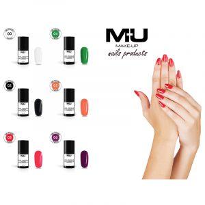 Gel polish UV Led semipermanente 8ml Mu Make Up